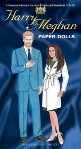 Harry & Meghan Paper Dolls Book cover