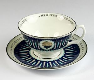 Picture of 70th Wedding Anniversary  Cup & Saucer