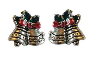 Picture of Bells Stud Earrings 1cm high