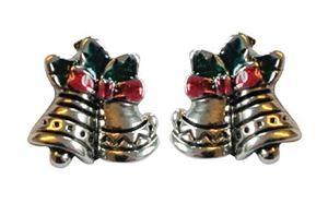 Picture of Bells Stud Earrings 1cm high