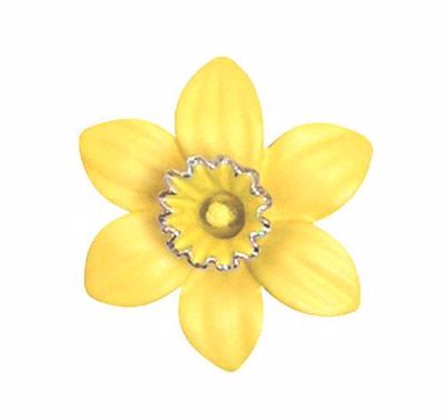 Picture of Daffodil Small Brooch 3cm diameter