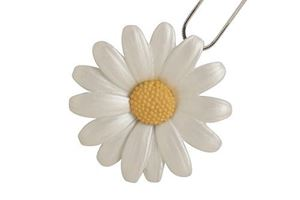 Picture of Daisy Large Pendant (4.5cm diameter) & Chain