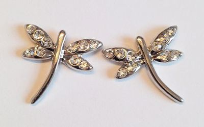 Picture of Dragonfly Pierced Earrings