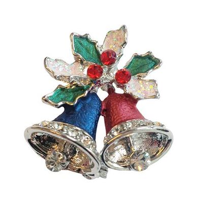 Picture of Jingle Bells Brooch 2cm high