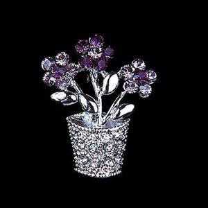 Picture of Purple Pot Brooch