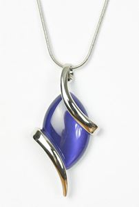 Picture of Purple Silver Necklace