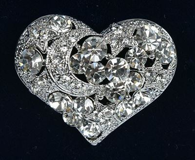 Picture of Silver Heart Brooch