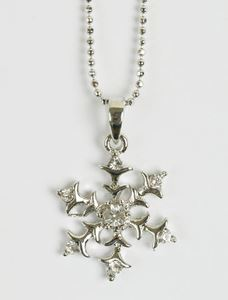 Picture of Small Snowflake Necklace
