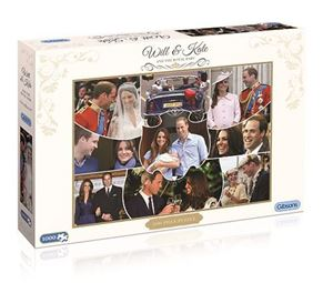 Picture of William, Kate & Prince George Jigsaw Puzzle