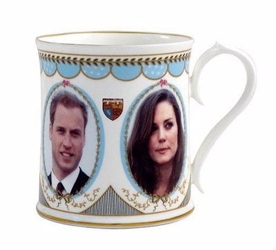 Picture of William & Catherine Engagement Tankard