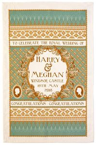 Picture of Harry & Meghan Wedding Traditional Tea Towel