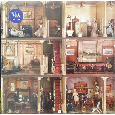 Picture of Amy Miles' Dolls' House 1,000-Piece Jigsaw Puzzle