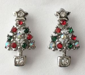 Picture of Coloured Tree Studs 2.5cm high