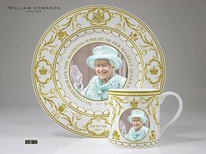 Picture of Diamond Jubilee Day Plate
