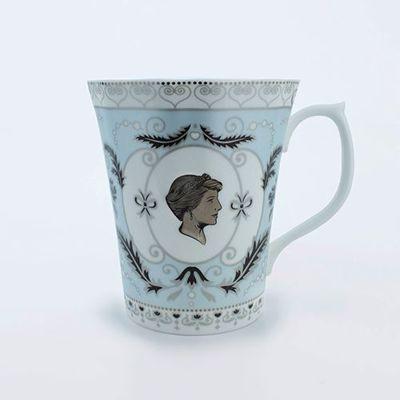 """Picture of Diana Fine Bone China Mug 10.5cm/4"""" high"""
