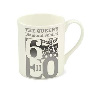 Picture of HRP Diamond Jubbilee Fine Bone China Mug