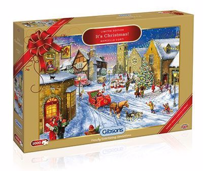 Picture of It's Christmas 1,000-Piece Jigsaw Puzzle