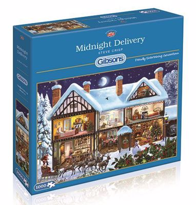 Picture of Midnight Delivery 1,000-Piece Jigsaw Puzzle
