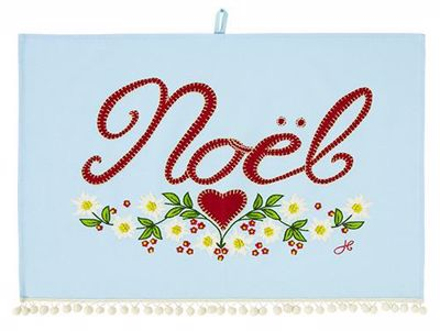 Picture of Noel Cotton Tea Towel