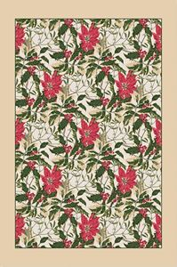 Picture of Poinsettia Tea Towel