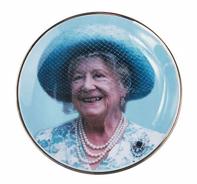 Picture of Queen Mother Portrait Plate