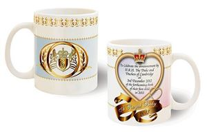 Picture of Royal Baby Announcement Mug (pink)