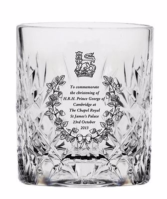 Picture of Royal Scot Cystal Prince George Christening Tumbler