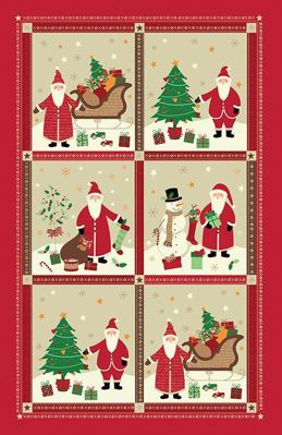 Picture of Santa Tea Towel