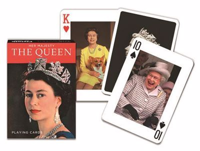 Picture of The Queen Playing Cards