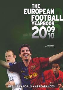 The European Football Yearbook 2009/2010 cover