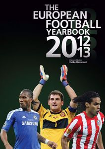 The European Football Yearbook 2012/2013 cover