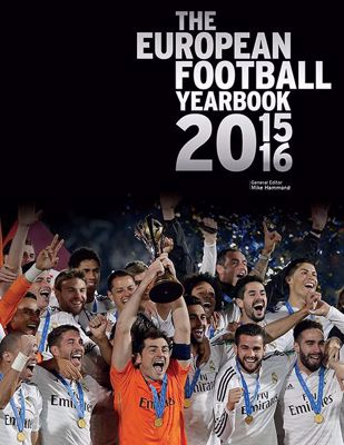 The European Football Yearbook 2015/2016 cover
