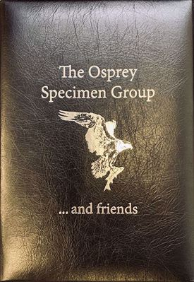 Osprey Specimen Book Leather Bound cover