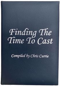 Finding The Time To Cast Leather Bound cover