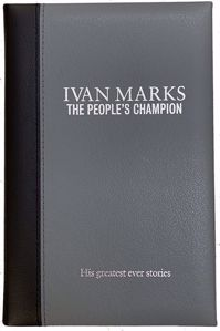 Ivan Marks: The People's Champion Leather Bound cover