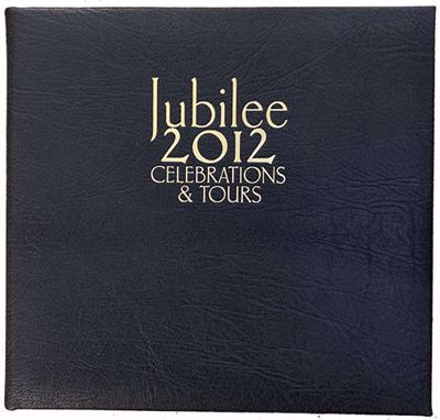 Jubille 2012: Celebrations & Tours Leather Bound cover