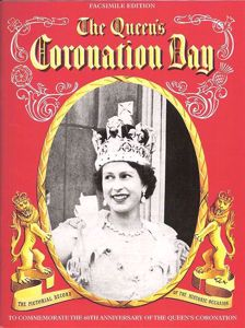 The Queen's Coronation Pitkin Guide Facsimile Edition cover