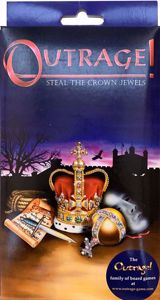 Picture of Outrage! Steal the Crown Jewels Travel Game