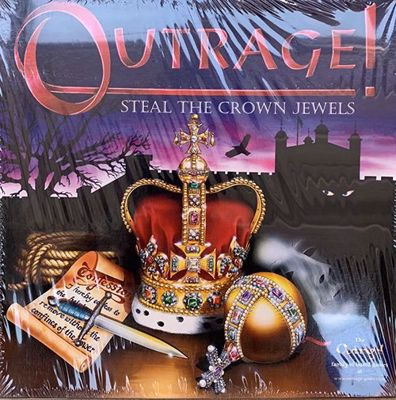 Picture of Outrage! Steal the Crown Jewels Board Game