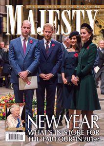 Majesty Magazine January 2019 issue