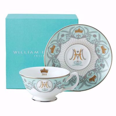 Prince Harry & Meghan Markle Royal Wedding Teacup & Saucer