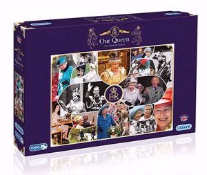 Gibsons Our Queen The Longest Reign Jigsaw Puzzle