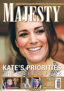 Majesty Magazine January 2014 issue